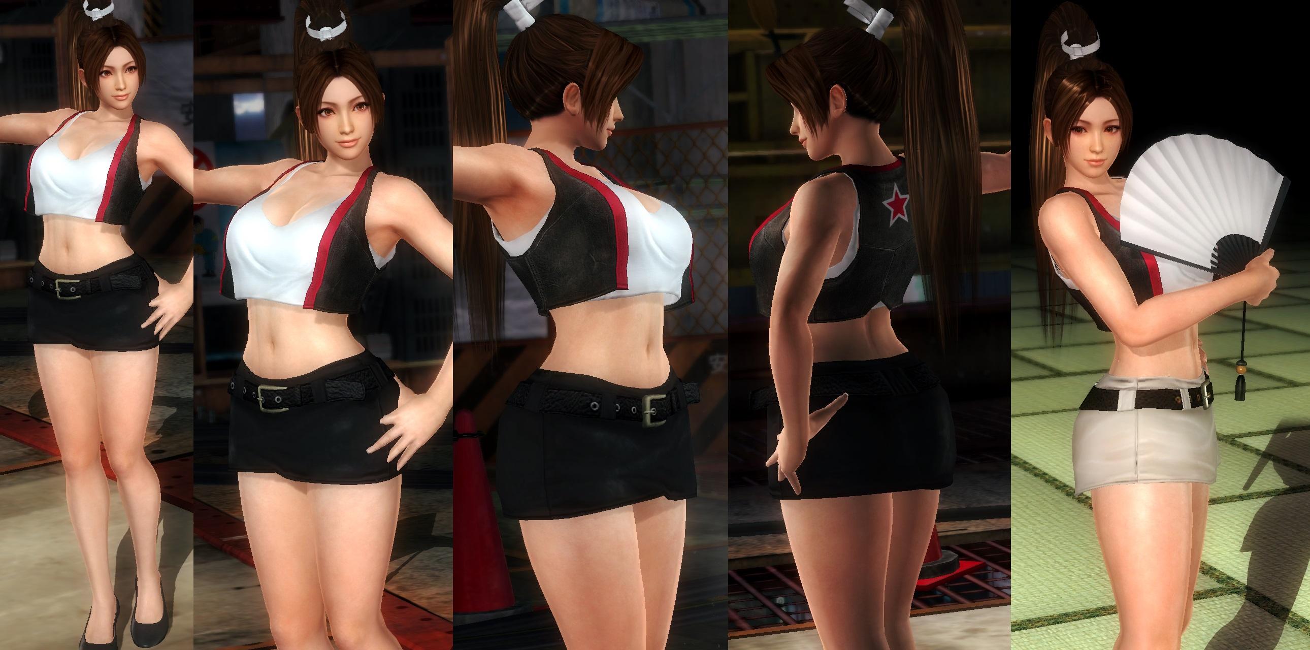 Mai Mini Skirt by funnybunny666