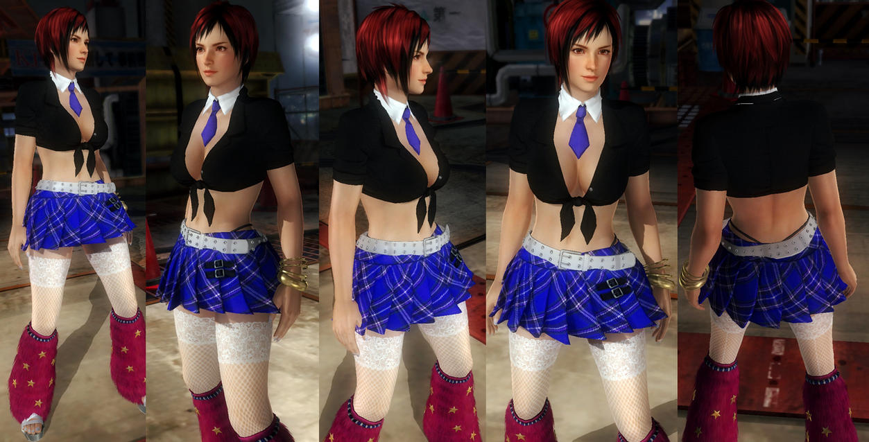 Mila rave skirt by funnybunny666