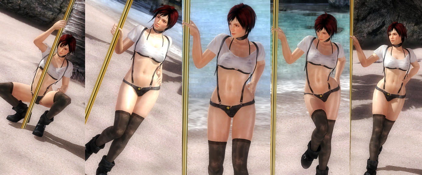 Mila hotpants mixed V1 by funnybunny666
