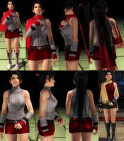 Momiji Red Skirt (update) by funnybunny666
