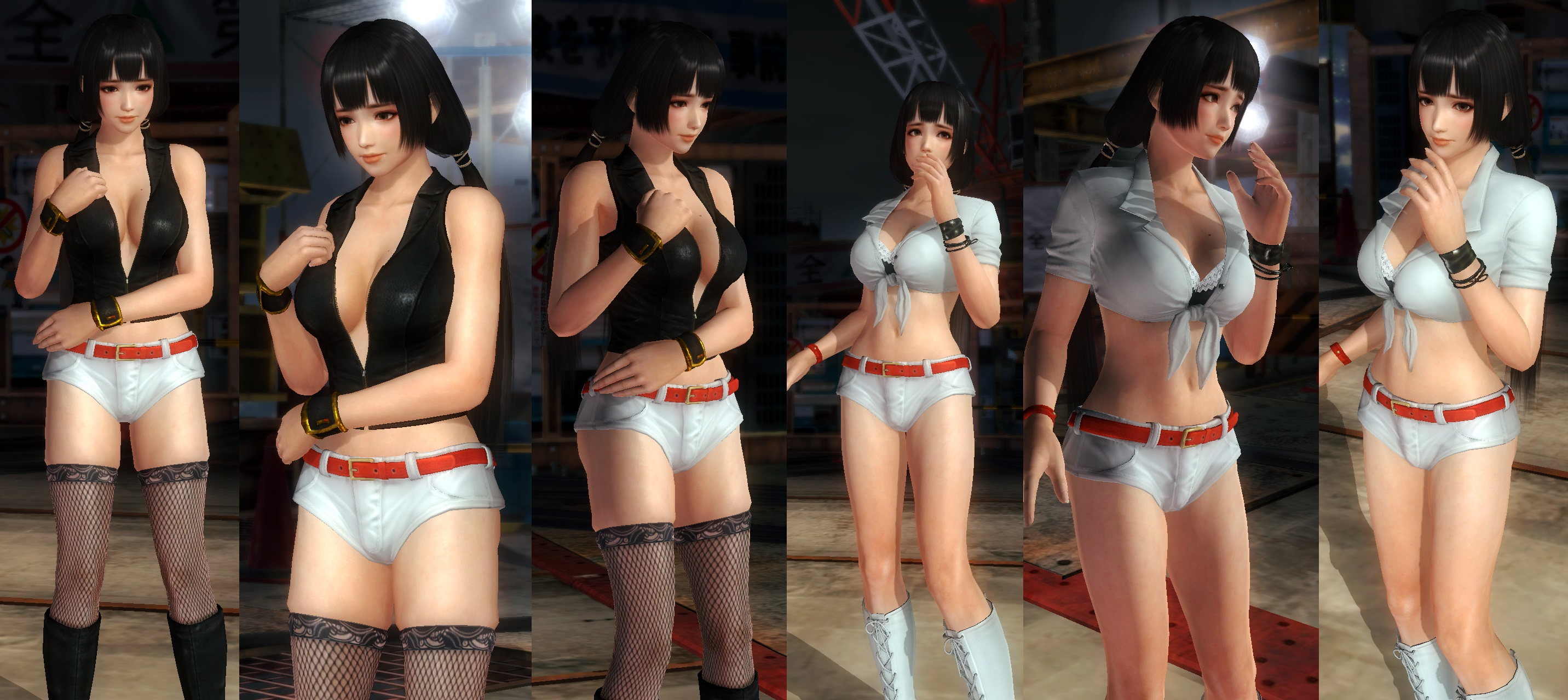 Naotora hot pants by funnybunny666