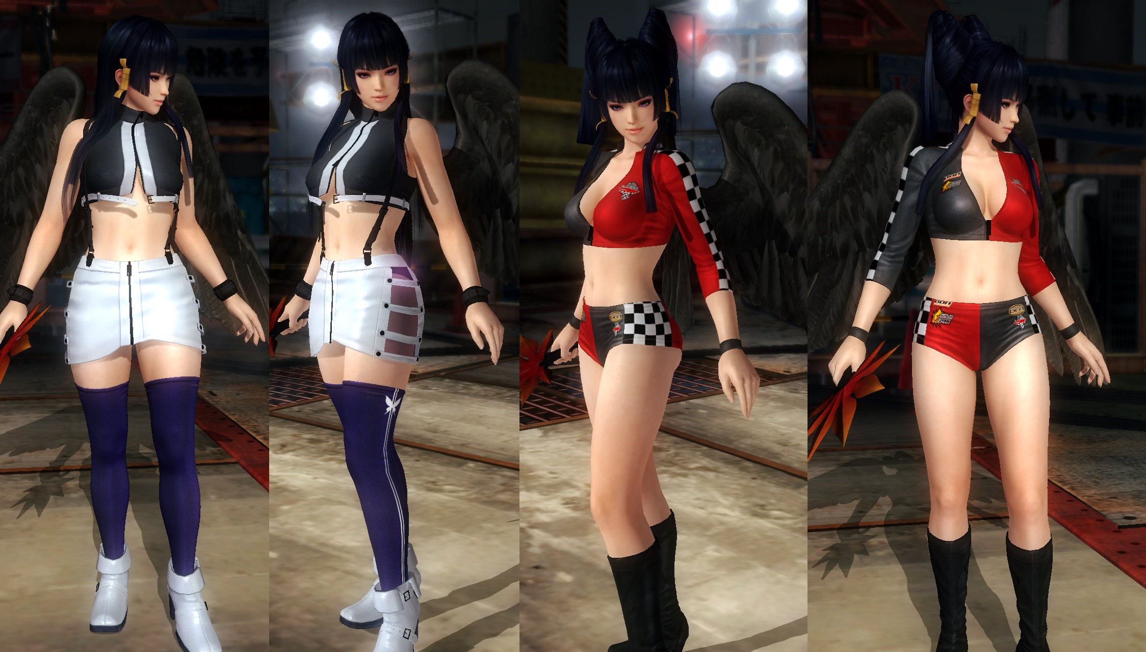 Nyotengu swapped costumes by funnybunny666