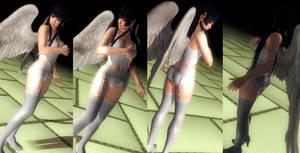 Nyotengu corset white