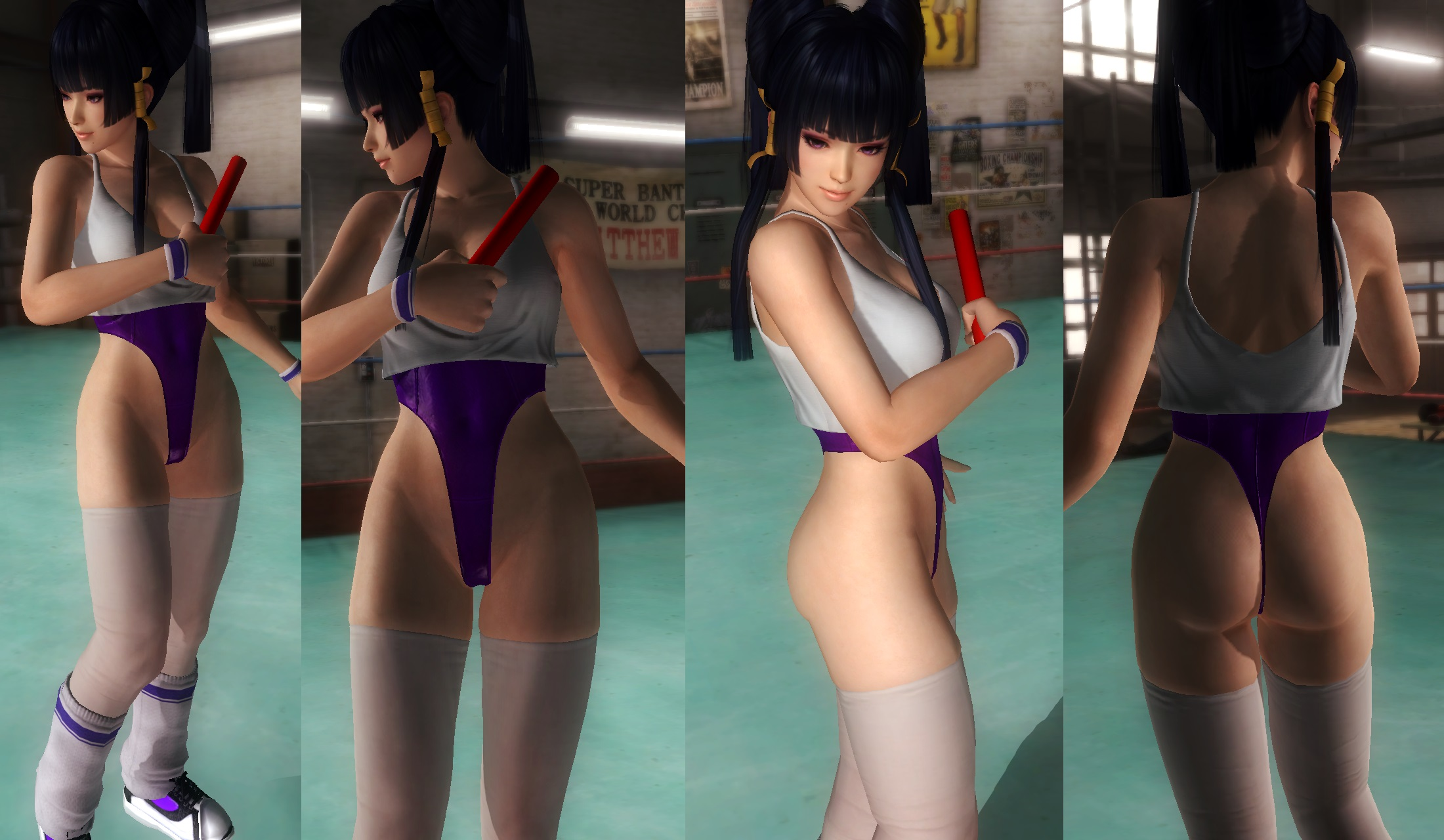 Nyotengu workout by funnybunny666