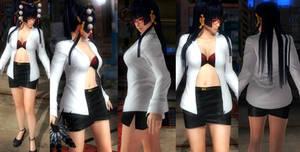 Nyotengu shirt skirt