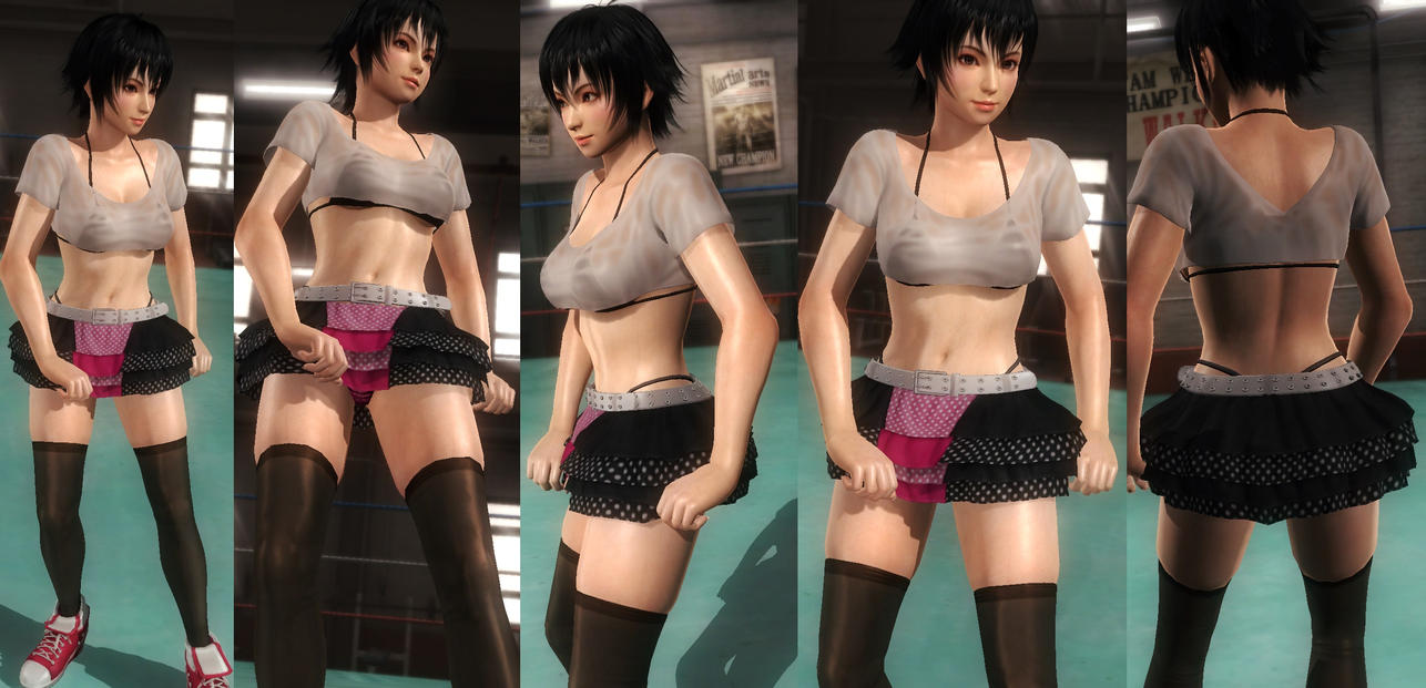 Pai shirt miniskirt by funnybunny666