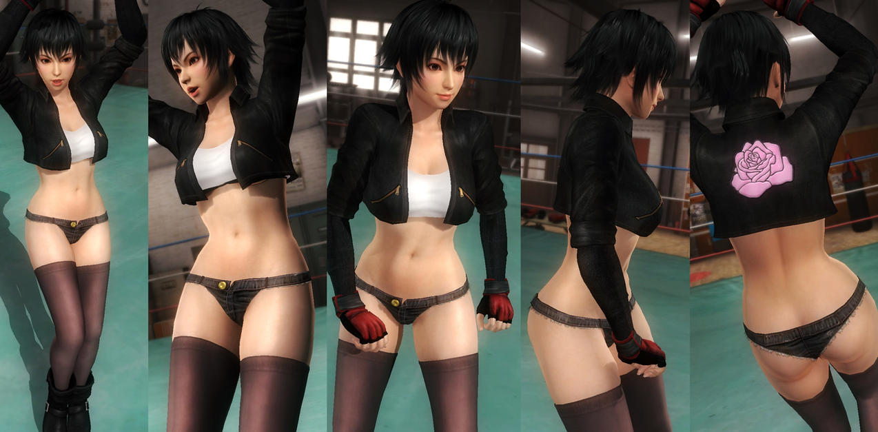 Pai jacket hotpants by funnybunny666