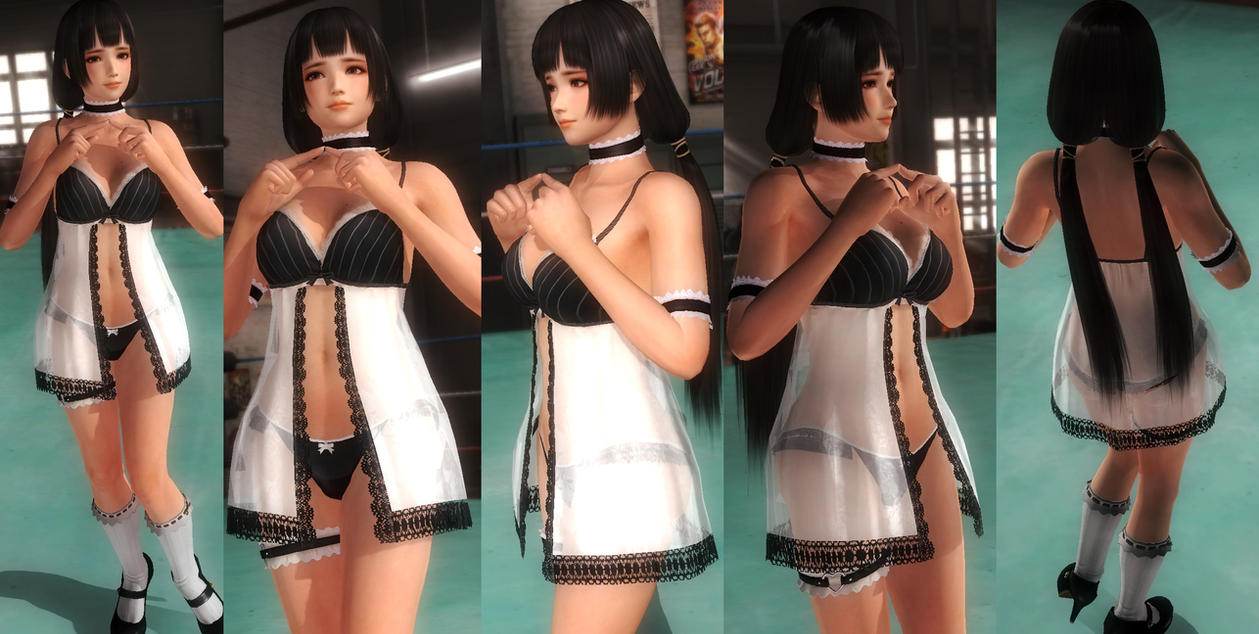 Naotora black/white lace V1 by funnybunny666