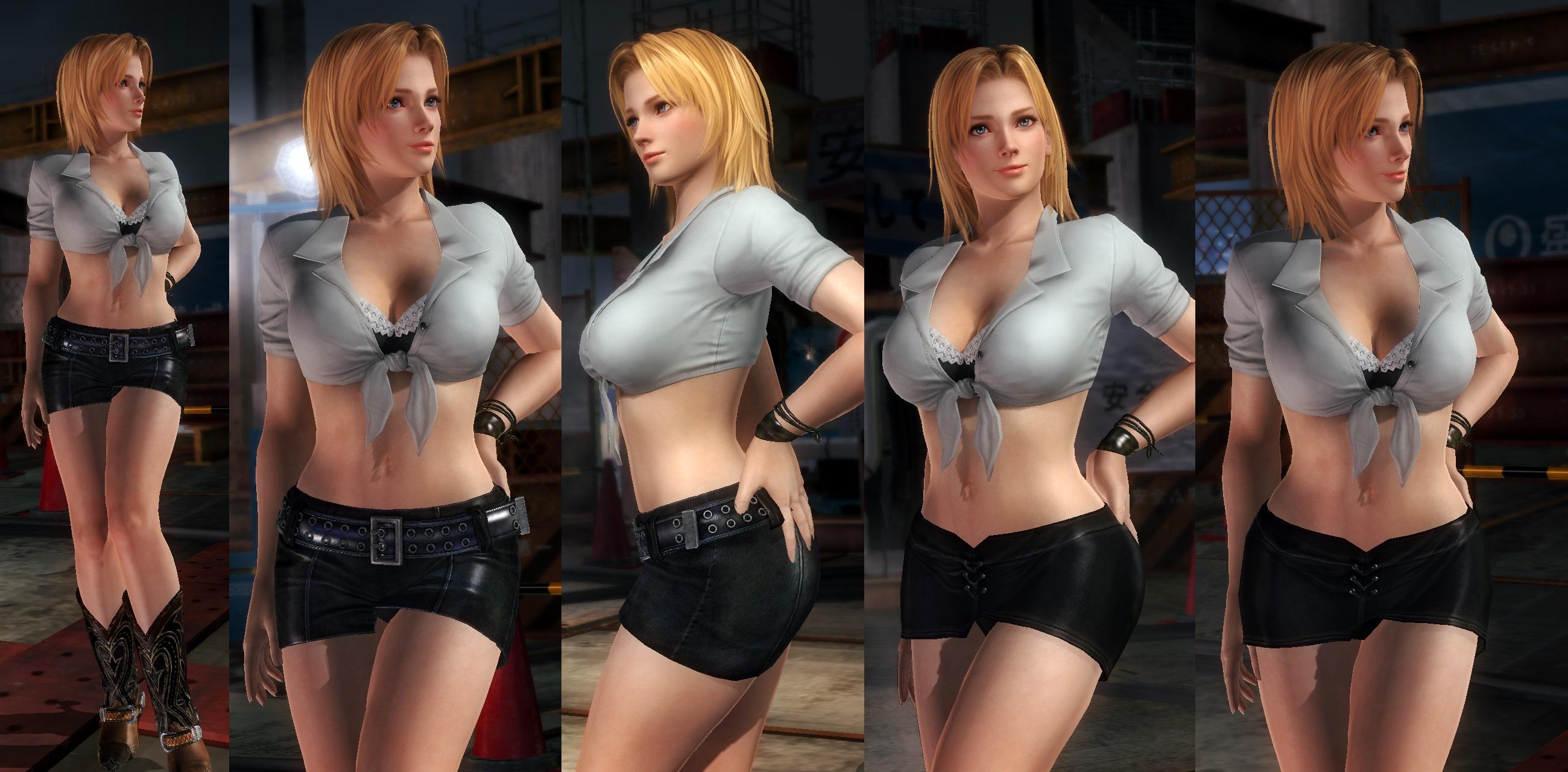 Tina black miniskirt by funnybunny666