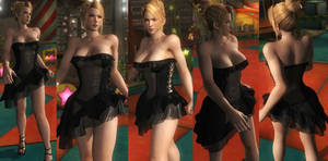 Sarah black dress by funnybunny666