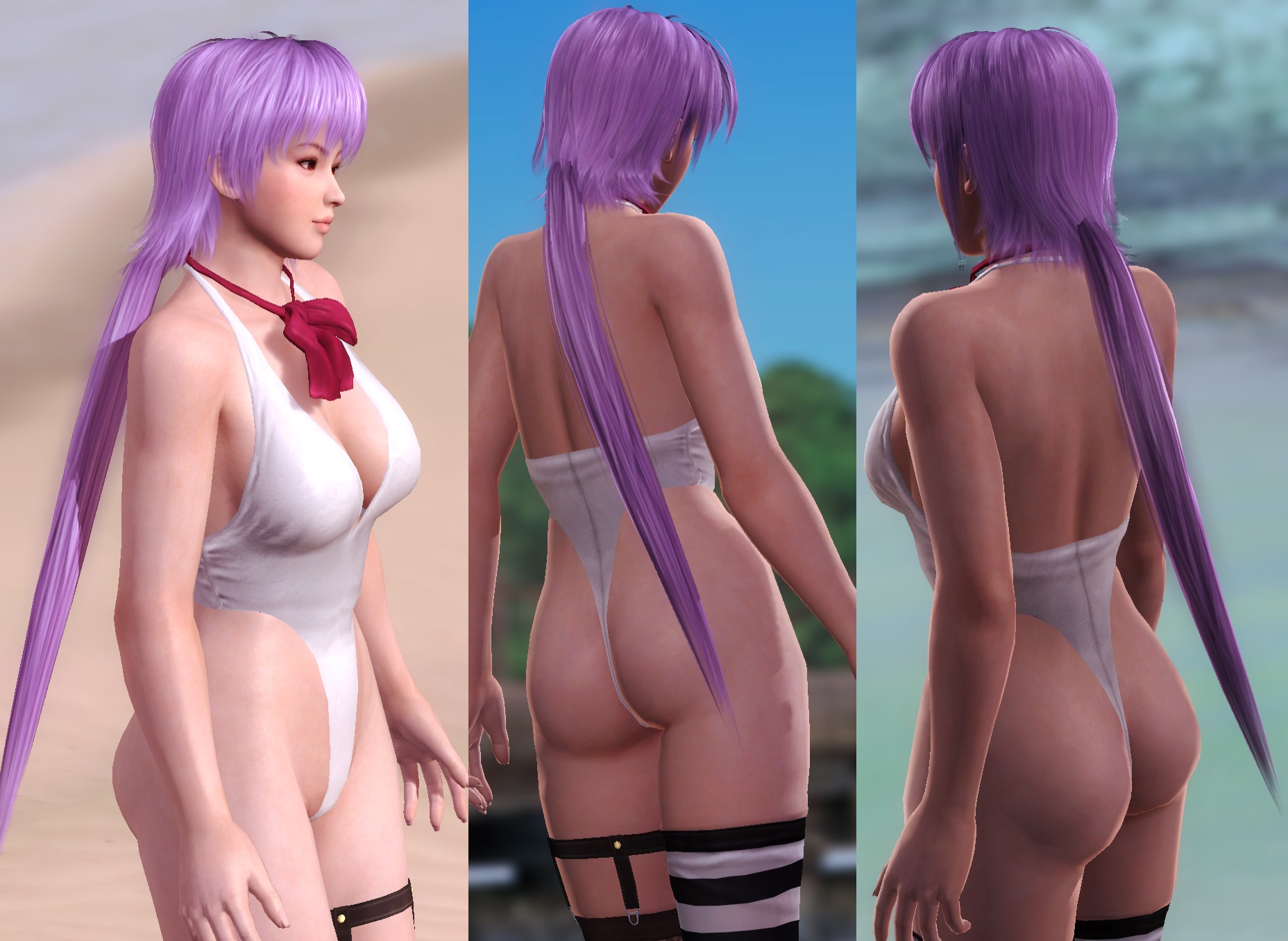 [HAIR] Ayane Long Tail by funnybunny666