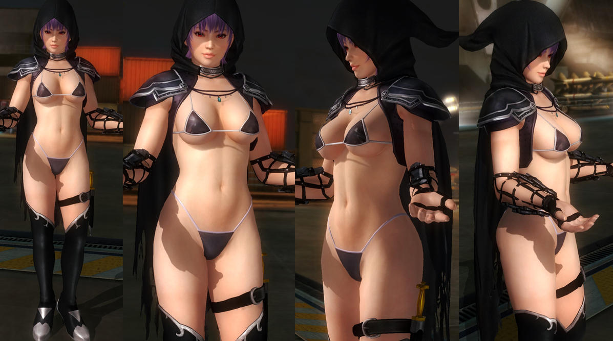 Ayane Bikini Armor by funnybunny666