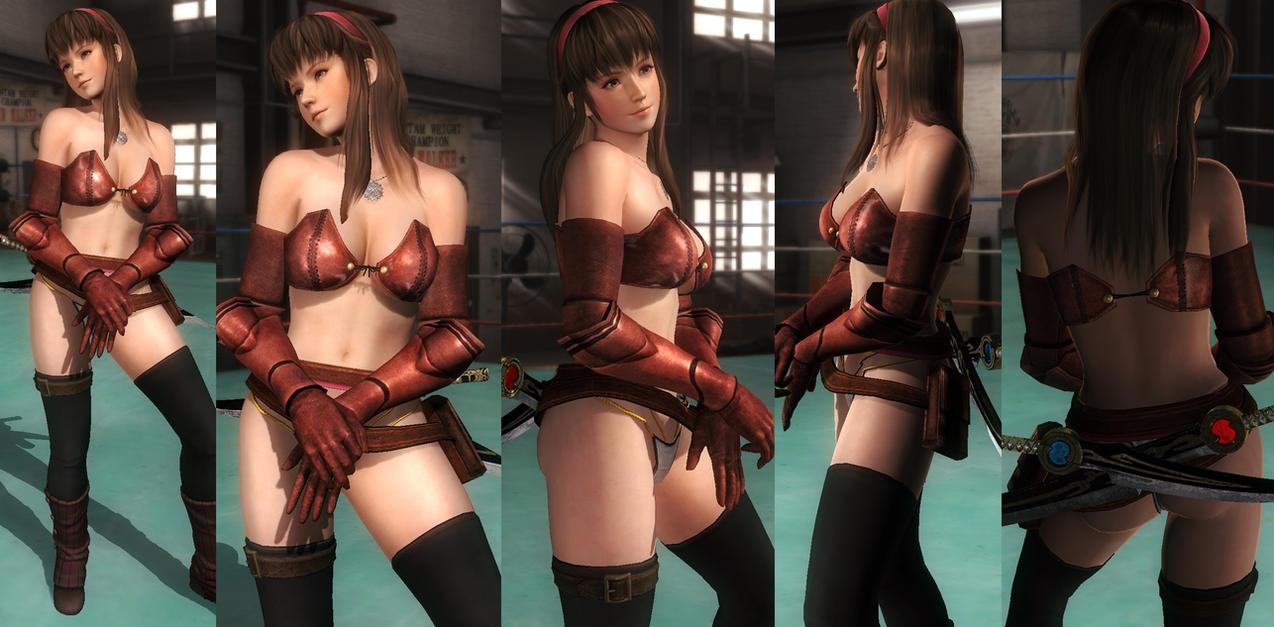 Hitomi Bikini Armor by funnybunny666