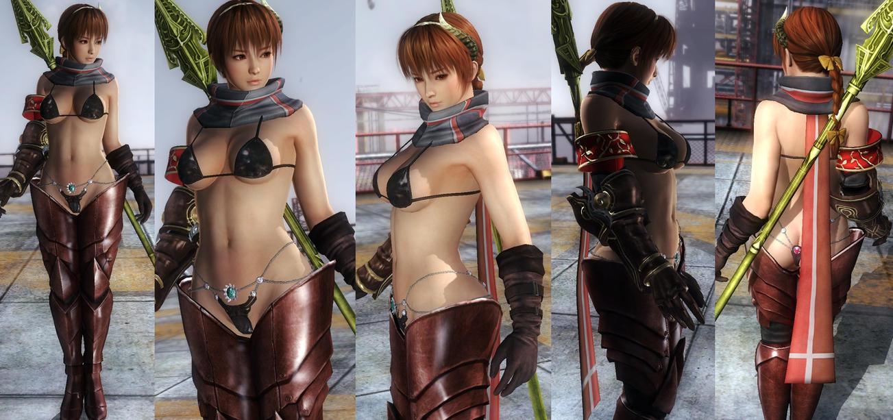 Kasumi Bikini Armor by funnybunny666