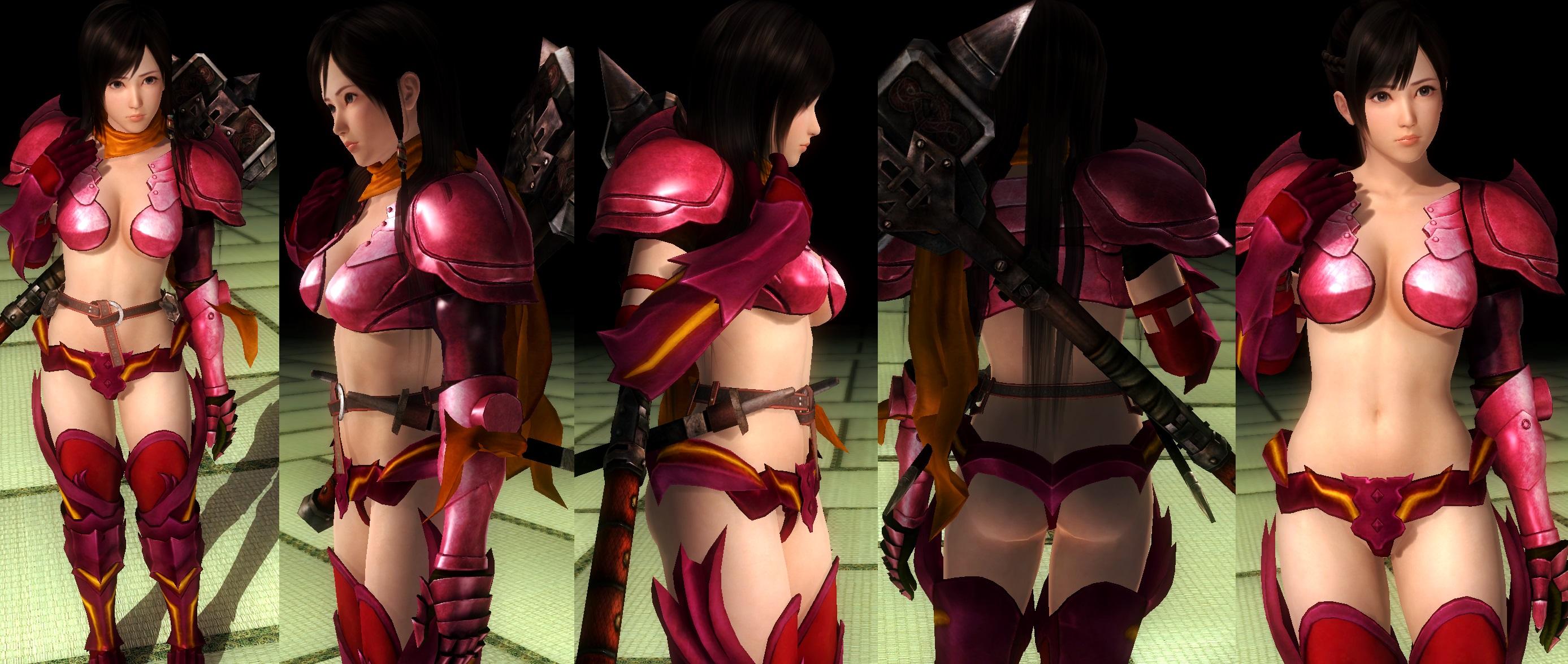 Kokoro Bikini Armor by funnybunny666