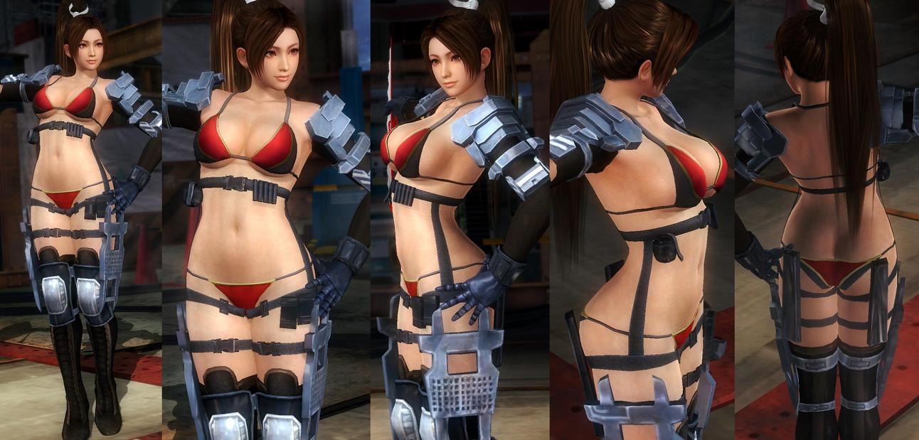 Mai Bikini Armor by funnybunny666