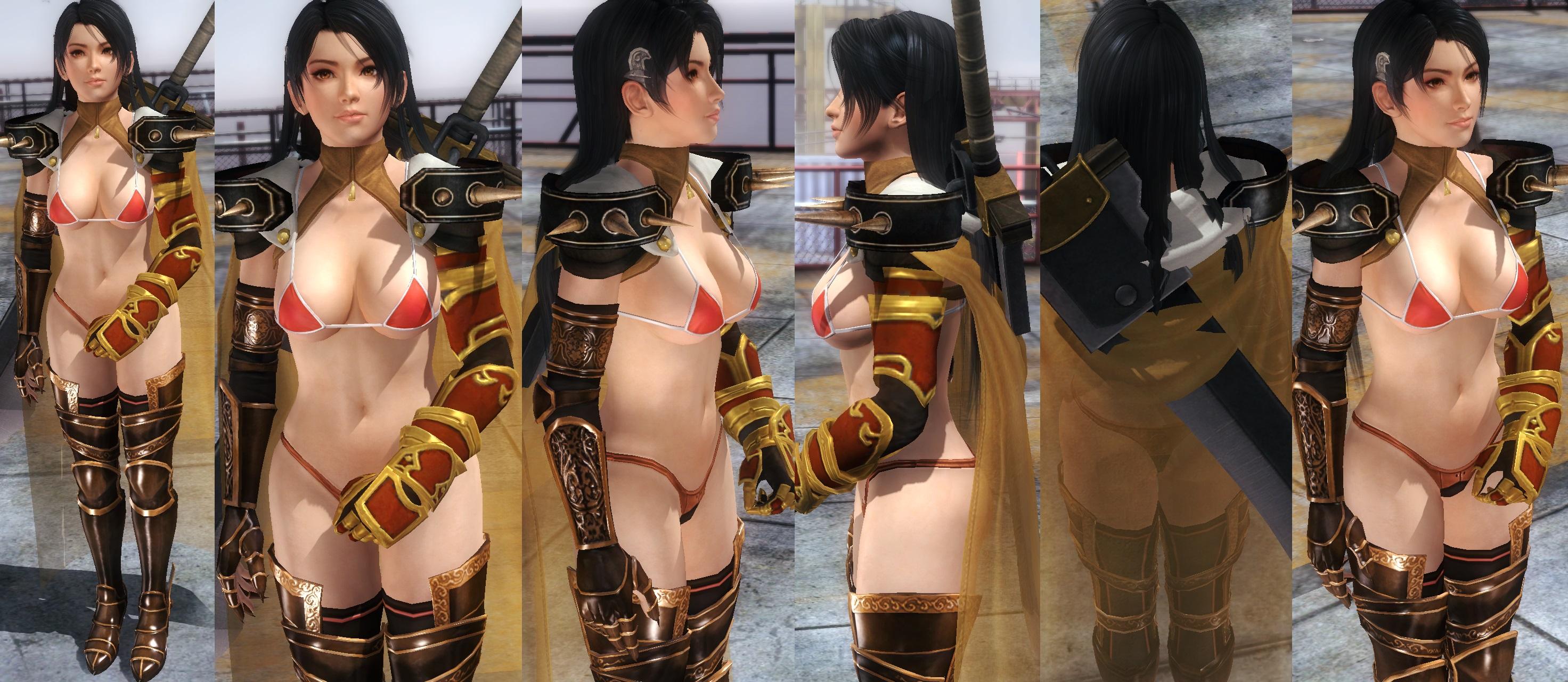 Momiji Bikini Armor by funnybunny666