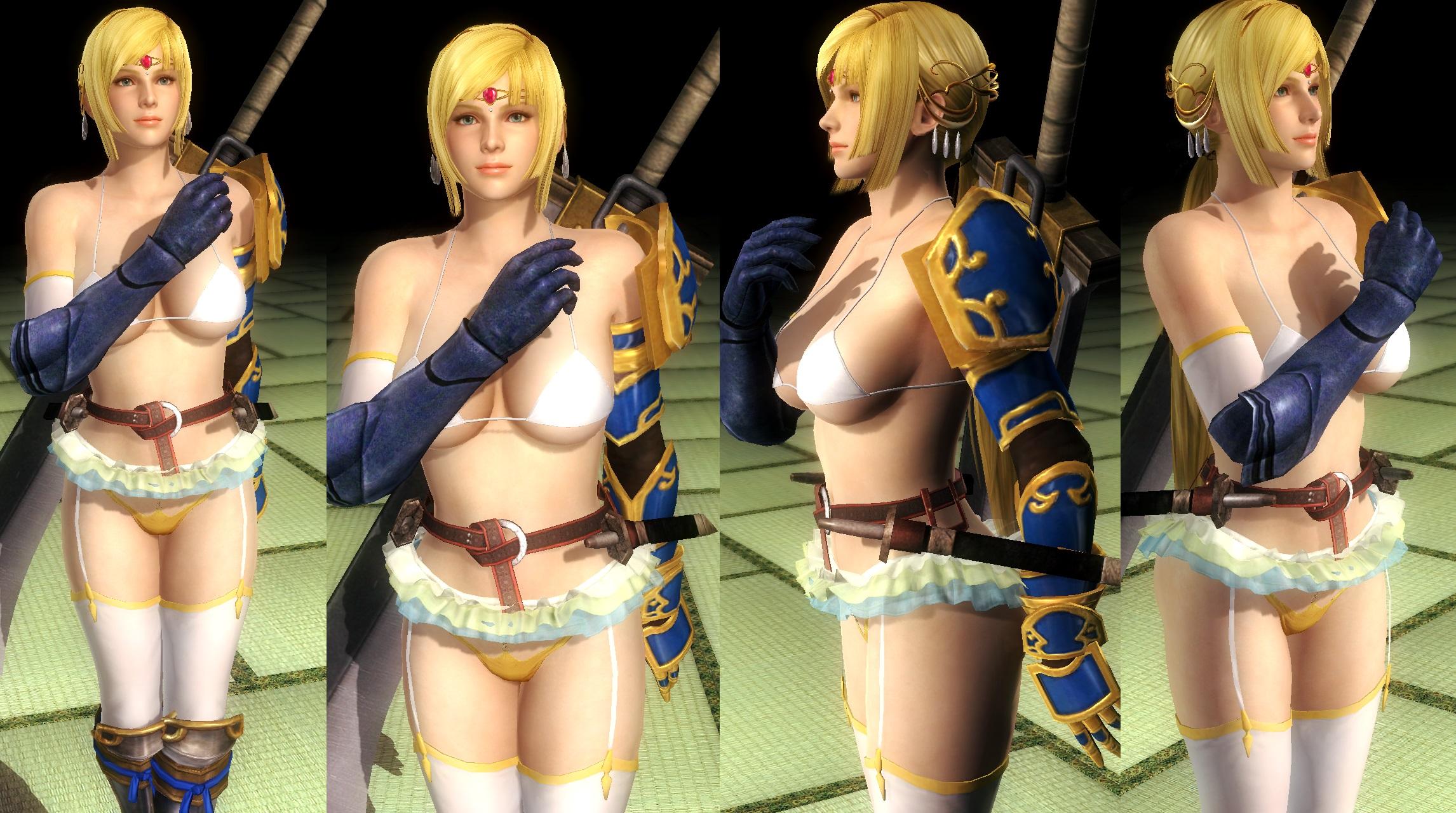 Helena Bikini Armor V2 by funnybunny666