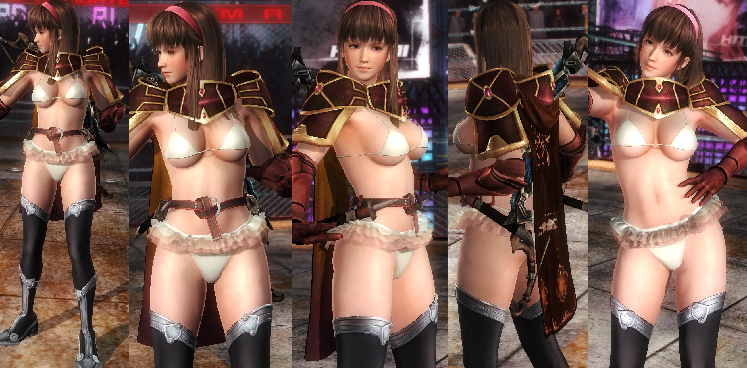 Hitomi Bikini Armor V2 by funnybunny666