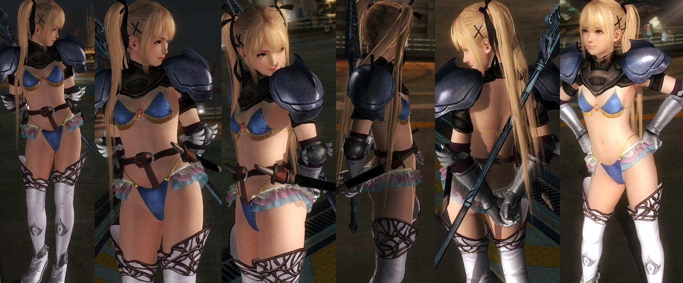 Marie Bikini Armor V2 by funnybunny666