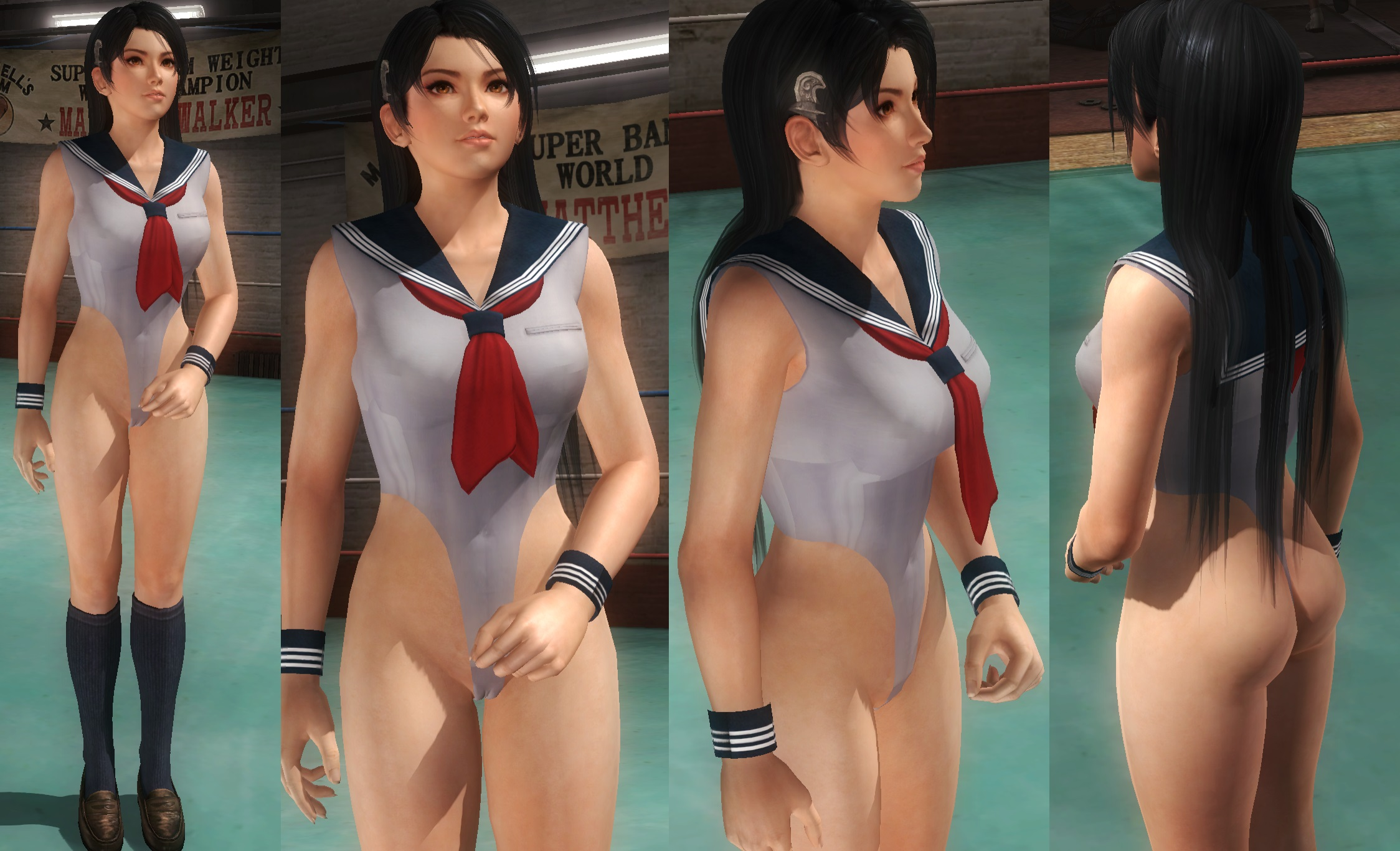 Momiji School Highcut Leg by funnybunny666