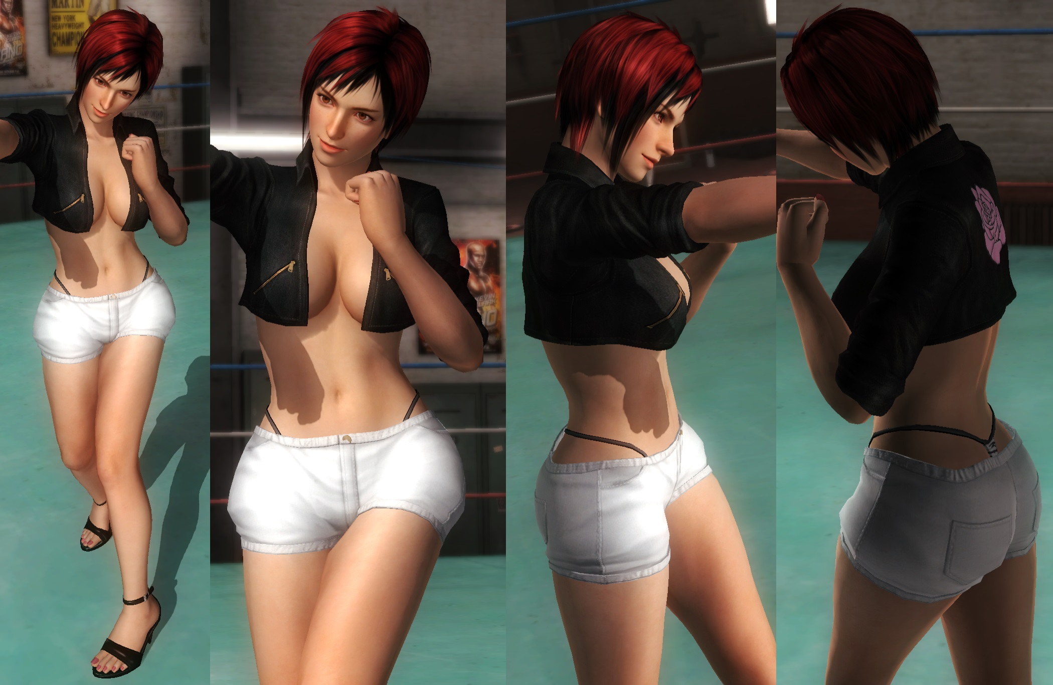 Mila Whitehotpants Jacket by funnybunny666