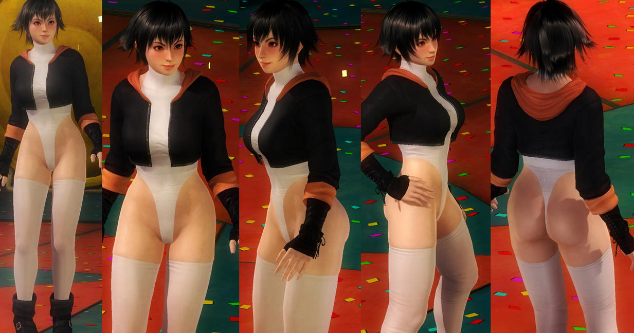 Pai Jacket Leotard by funnybunny666