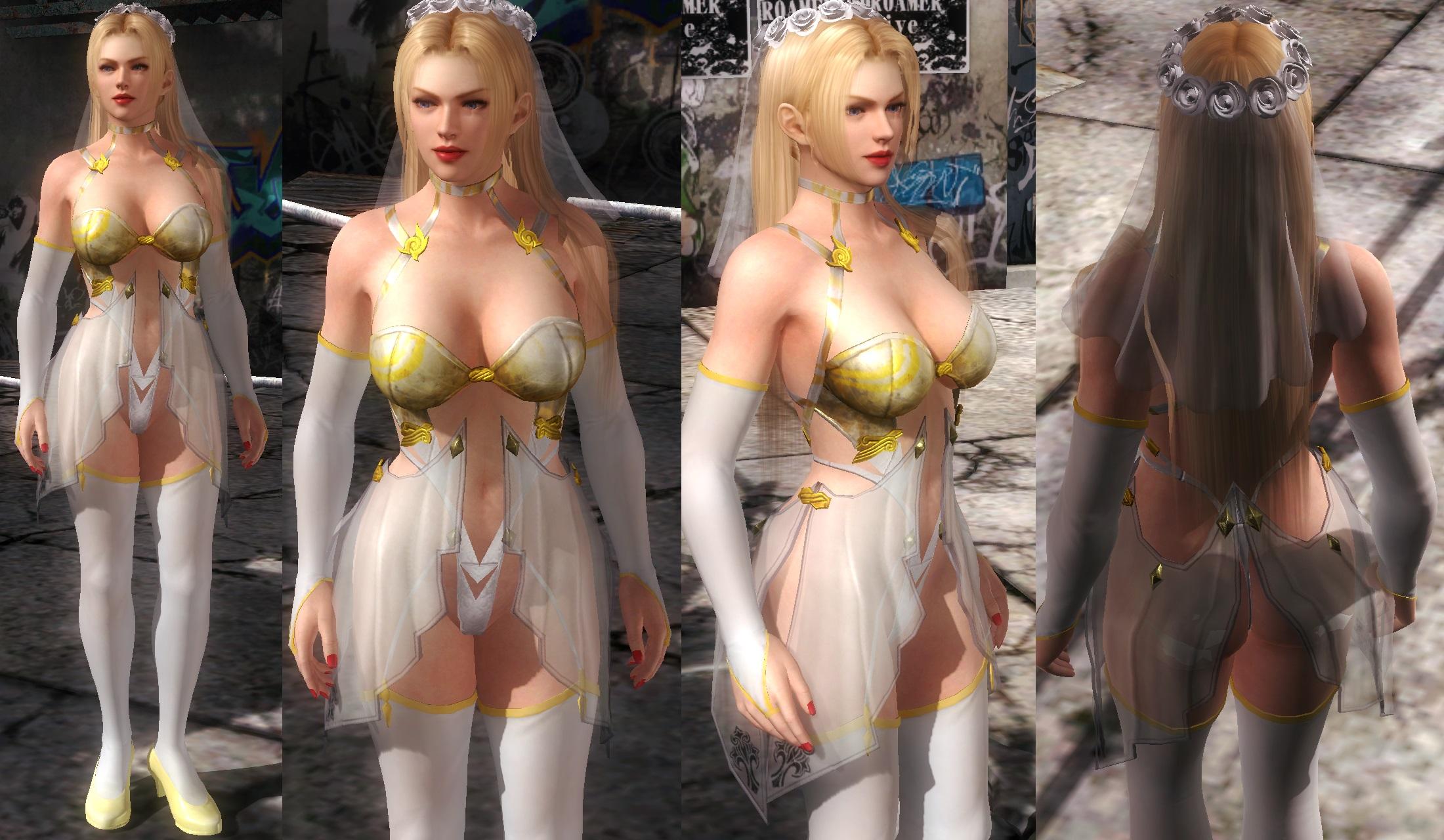 Rachel Bikini Bride by funnybunny666