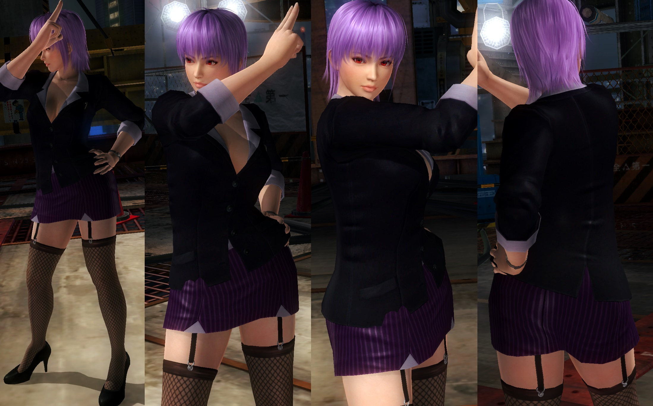 Ayane Office Suit by funnybunny666
