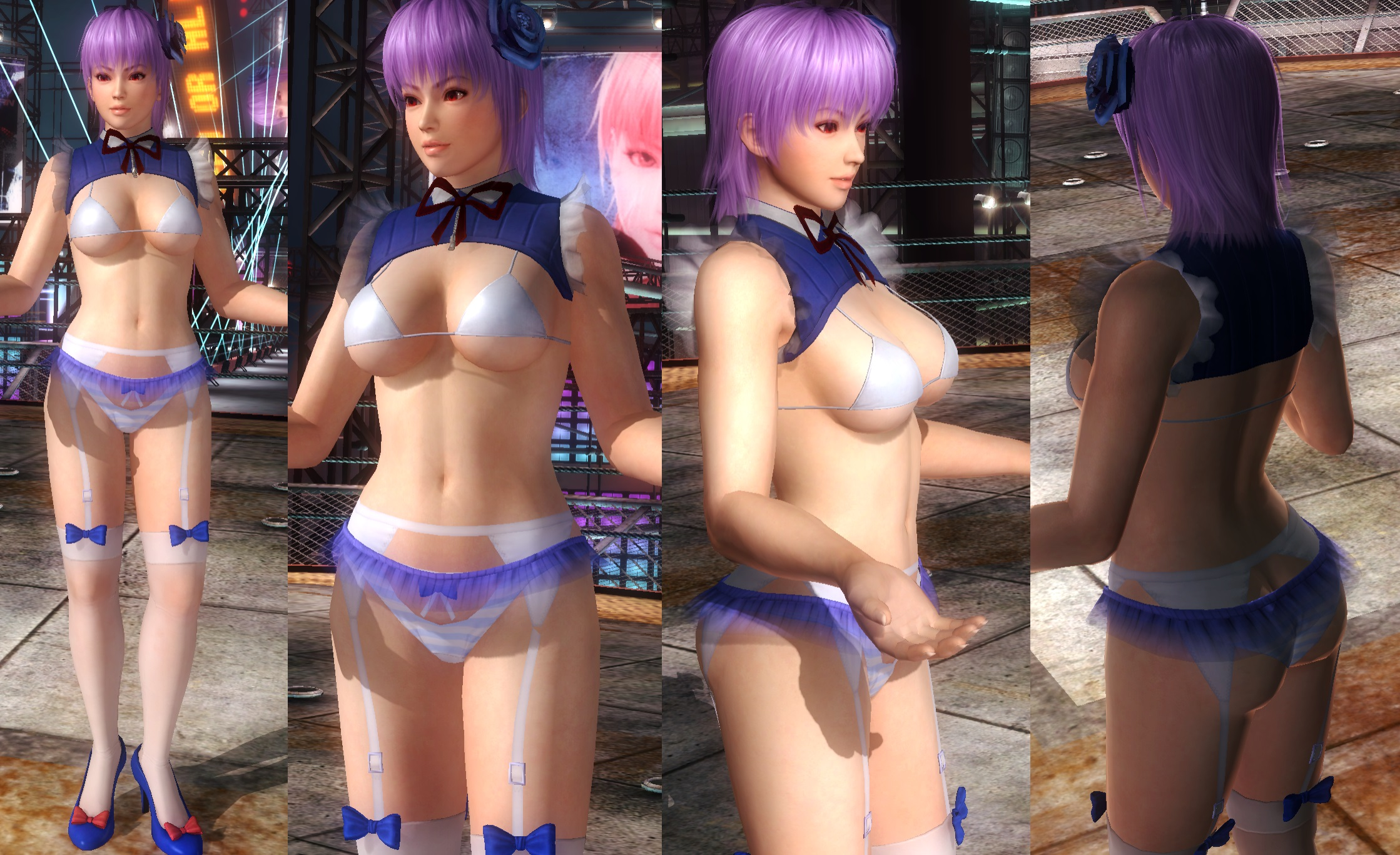 Ayane Blue Top by funnybunny666