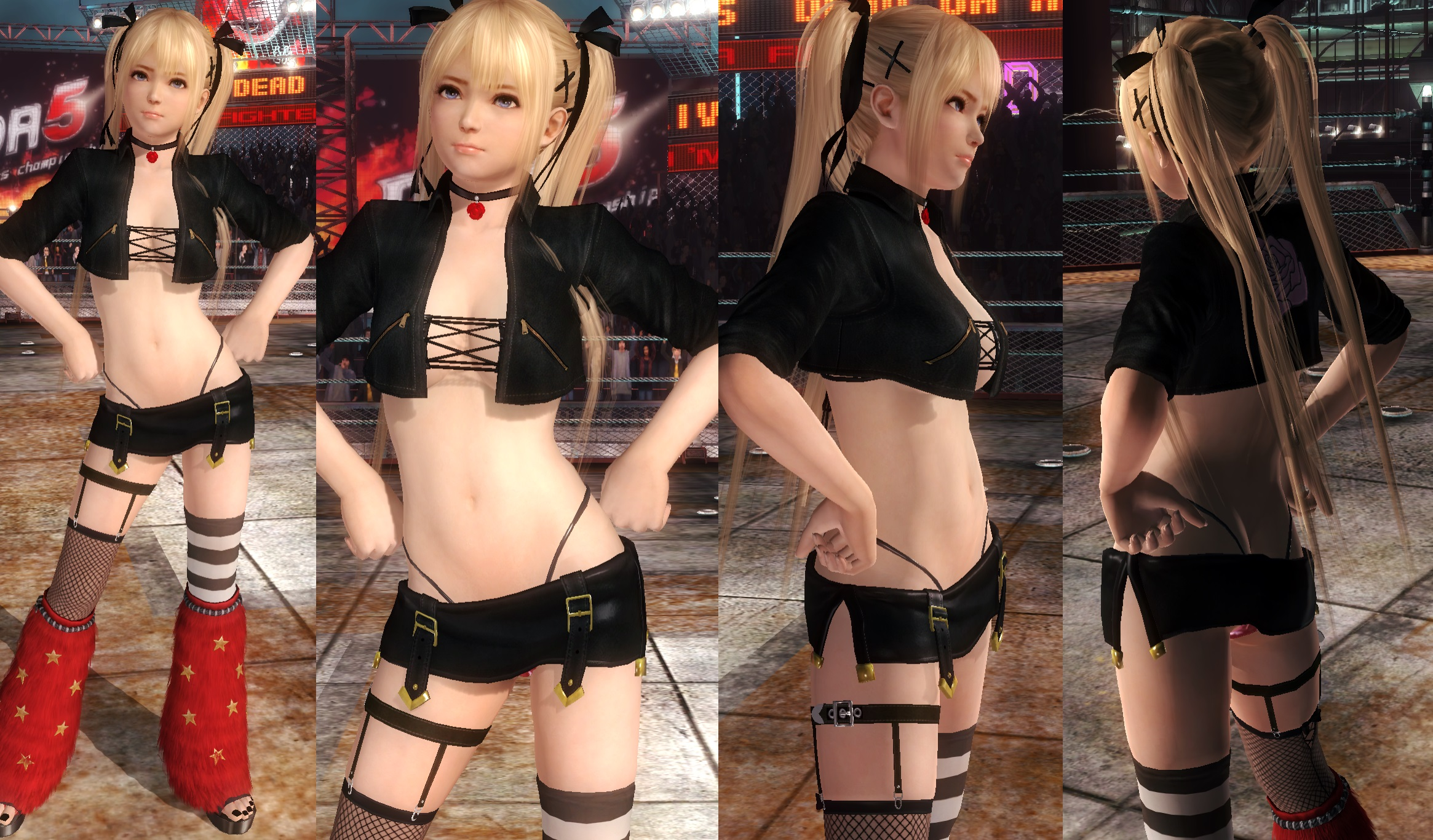 Marie Jacket Miniskirt by funnybunny666