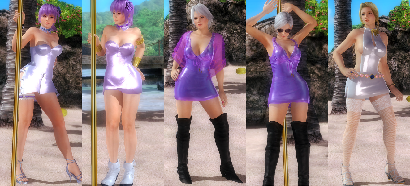 [MOD PACK] Slutty Dress Theme Set 1 by funnybunny666