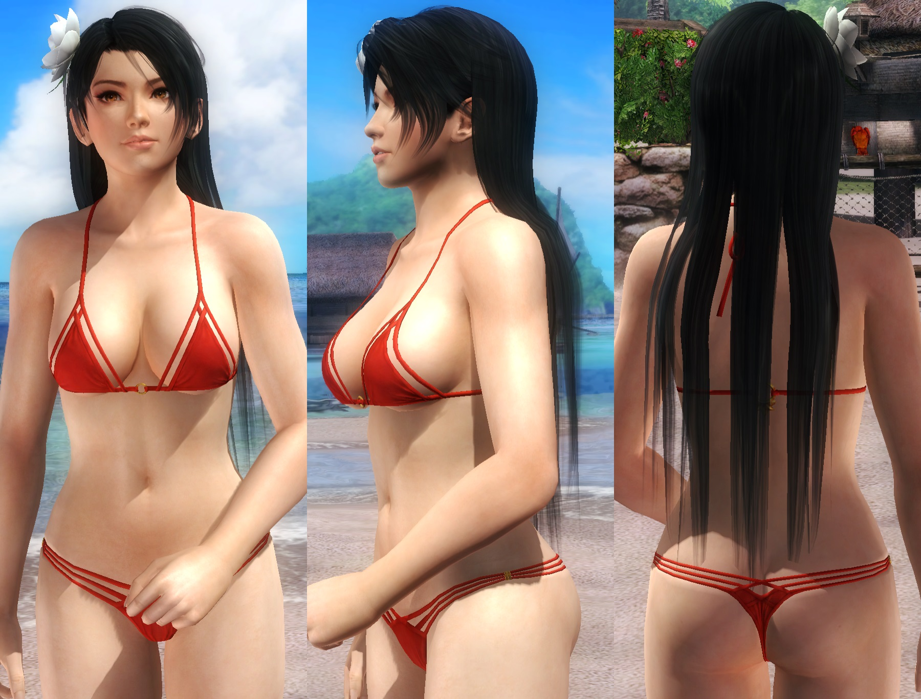 [HAIR] Momiji Lose Long by funnybunny666