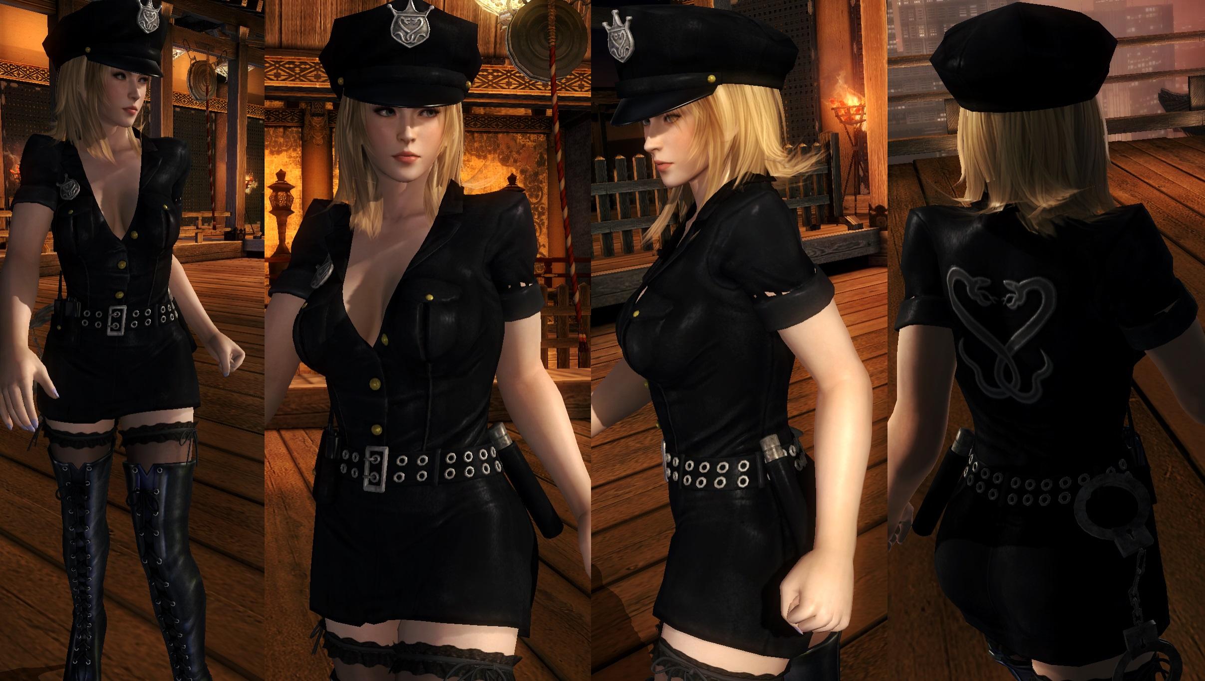 Sarah Police V2 by funnybunny666