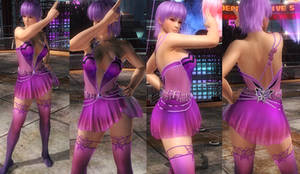 Ayane DOAXVV Papillon Dance by funnybunny666