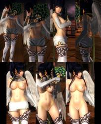 Nyotengu Skirt Microbikini by funnybunny666