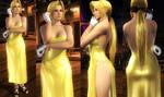 Helena Golden Dress