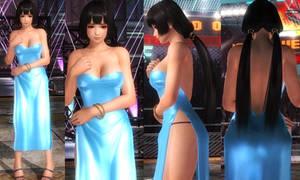 Naotora Blue Dress by funnybunny666