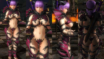 Ayane SOUL CALIBUR LOST SWORDS Ivy Valentine