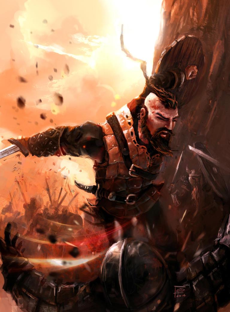 Viking attack by FredRubim