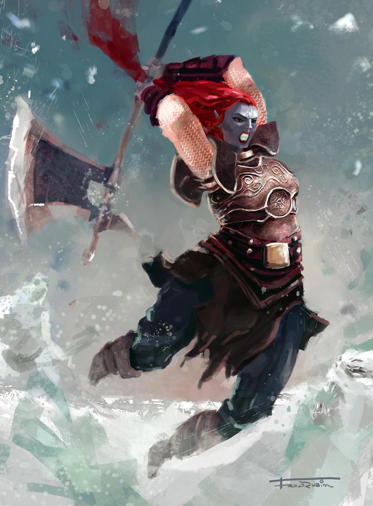 Snow warrior by FredRubim