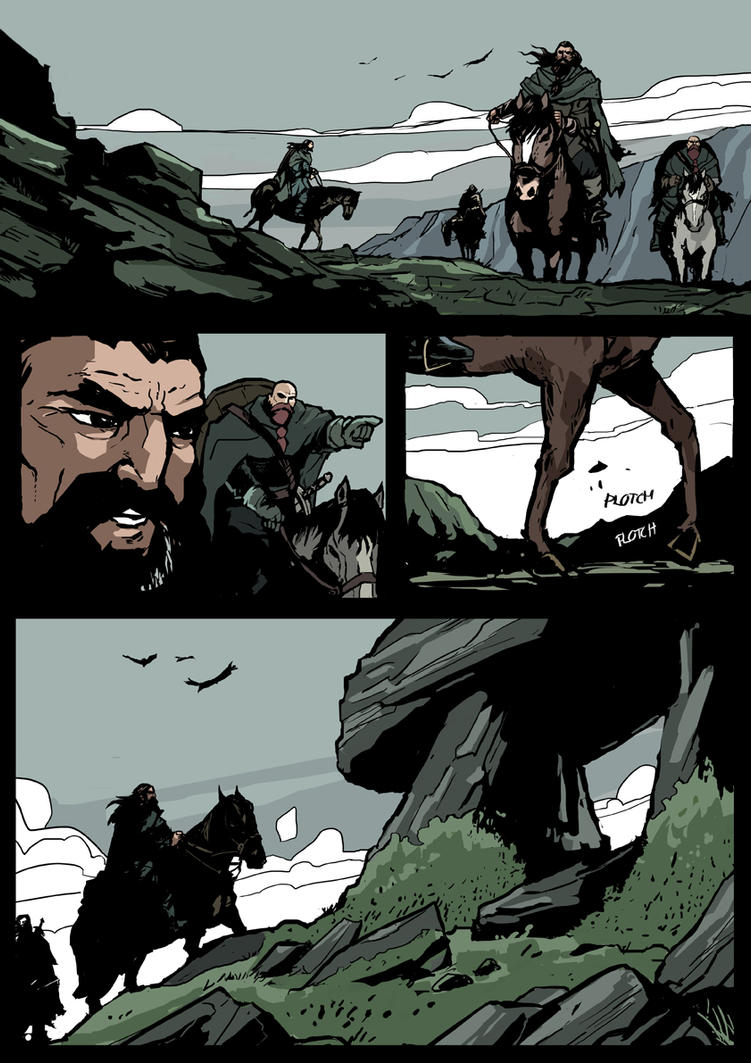 Tales of the Black Hound - Pg02 by FredRubim
