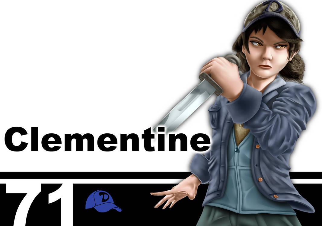 Clementine - Super Smash Bros. Ultimate.