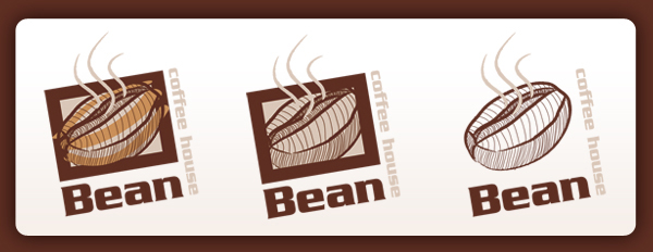 Bean, Coffee House Logo by blue-flamingo