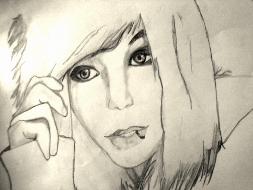 andy biersack drawing read sources how draw andy sixx step step    Easy Andy Biersack Drawing