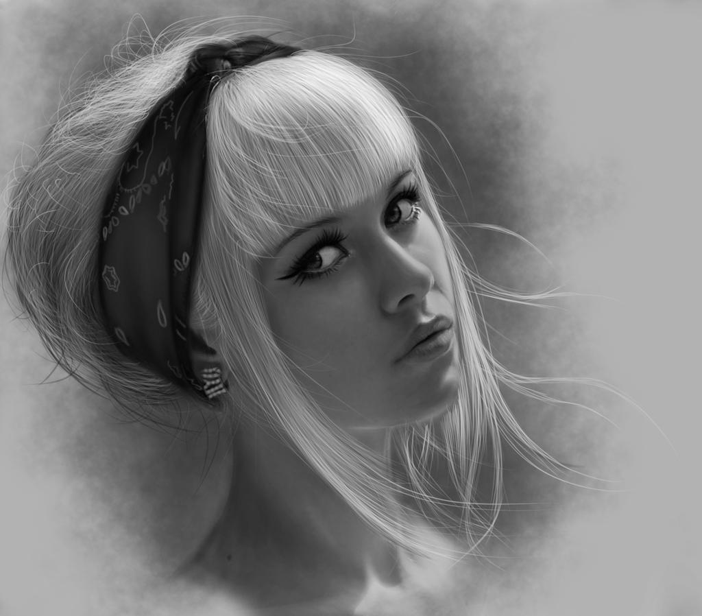 Girl by vannenov