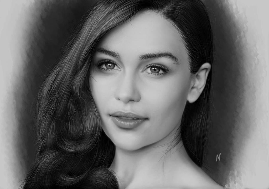 Fire(Emilia Clarke) by vannenov