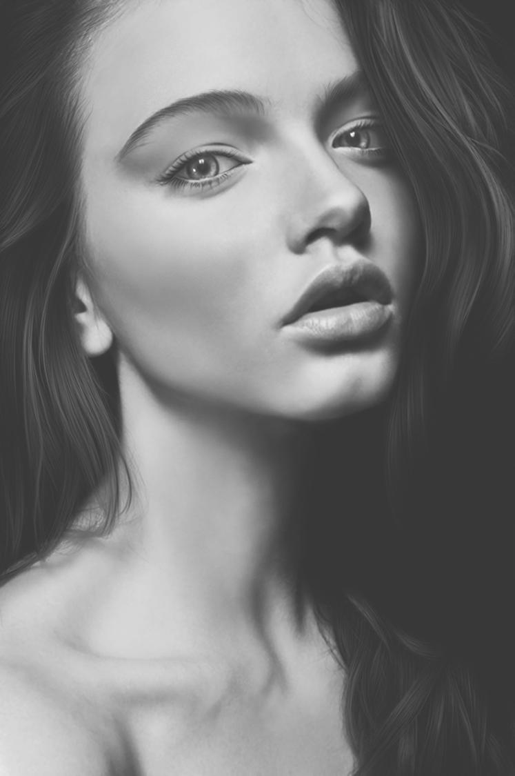 black and white by vannenov on DeviantArt