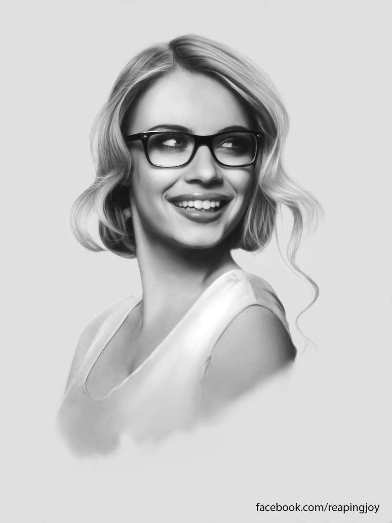 Xenia - Digital Portrait by vannenov