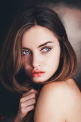 Color Study Portrait by vannenov